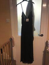 5b75e780d92 Womens True Decadence Black Strappy Dress Size 16