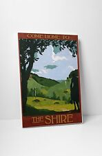 "Come Home To Shire by Steve Thomas Gallery Wrapped Canvas 20""x30"""