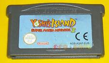 YOSHI'S ISLAND SUPER MARIO ADVANCE 3 Game Boy Advance Gba ••••• SOLO CARTUCCIA