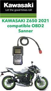 KAWASAKI Z650 2021 6 PIN DIAGNOSTIC TOOL, OBD  FI SCANNER