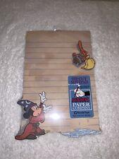 New Walt Disney Mickey's Paper Company Die Cut Notepad 100 Sheets Fantasia