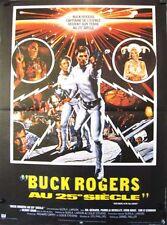 Affiche 40x60cm BUCK ROGERS AU 25E SIECLE - 1979 Gil Gerard, Pamela Hensley