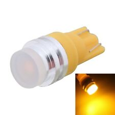 MZ T10 5W 300LM Yellow Light Dual Wire COB LED Car Clearance Lamp for Vehicles,