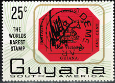 Guyana World Rarest Stamp British Guiana on stamp 1966 MNH