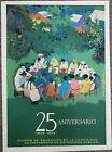 """""""25 ANIVERSARIO DIVEDCO"""" by TUFINO / PUERTO RICO ART VINTAGE SILKSCREEN POSTER"""