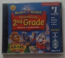 Reader Rabbit Personalized 2nd. Grade Ages 6-8
