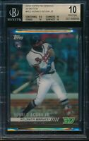 2018 Topps On Demand 3D Ronald Acuna Jr. RC BGS 10 Pristine SP Rookie Motion M22