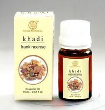 Khadi Herbal Frankincense 100 Natural Pure Undiluted Essential Oil 15ml
