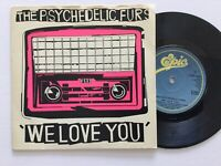 "The Psychedelic furs: We Love You / Pulse 1979 7"" Vinyl Single: Free UK Post"