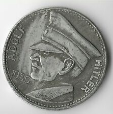 Rare 1935 German Leader Coin WWII Germany 5 Reichsmark Eagle Collection Token WW