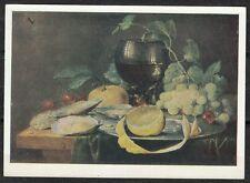 Soviet Russia 1963 mint postcard Kornelis painting Art Hermitage Leningrad