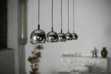 1x Chrome Ball space age TRUE VINTAGE Lamp Ceiling Lamp 70er Panton Topan aera