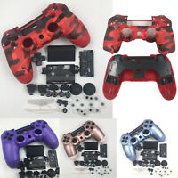 For Sony PS4 Slim 4 Controller Housing Shell Case Cover Buttons Set Replacement