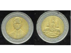 THAILAND  THAILANDE   10 baht   1996  ( etat )