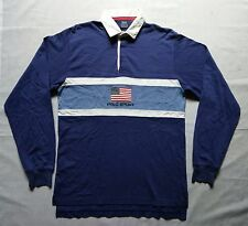Vintage 90s Polo Sport Ralph Lauren Spell Out Flag T Shirt Bear Rugby Snow Beach