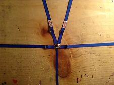 1/10 scale racing seat belt,Crawler,Drift,RC,Blue seatbelt, Harness,Wraith