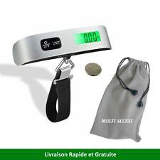 Pèse Bagage Electronique Portable Balance Numérique 50kg LCD Rétro-éclairé Peson
