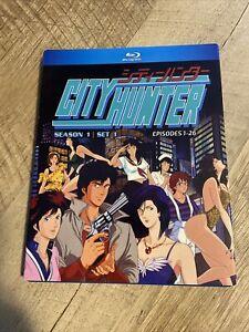 City Hunter First TV Series Blu Ray Discotek Media Official Anime Episodes 1-26