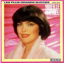 Mireille Mathieu-Les Plus Grands Succes (vol. 1) 1966-1970-CD 1988 Carrere-96613
