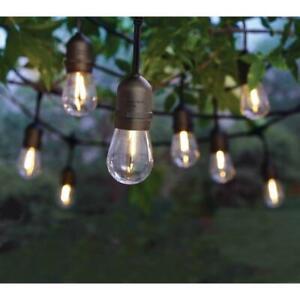 Hampton Bay 12-Light Indoor/Outdoor 24 ft.  String Light