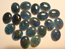 Opal Stones Natural Triplet Parcel Lot 10x8mm Oval 20 Piece's. item 110377.