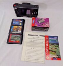 Sega Genesis Nomad Console with Battery Pack AC Adapter Altered Beast Dracula