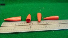 2 Pairs Red Small Mueller 32 Alligator Clip Boots Nos