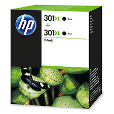Tinta HP 301xl cartucho original negro Pack2 D8j45ae