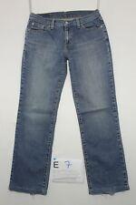Levi's 749 (Cod. E7) Tg45 W31 L34 jeans usato Talle Alto Vintage