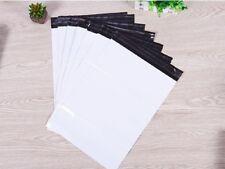 98 White Plastic Mailing Postal Bags 45x29.7cm