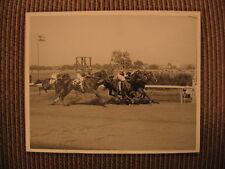 """World's Champion Quarter Horse """"Joe Queen"""" & Robert Ford up Original 1955 Photo"""