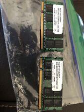 2x Elpida 1GB DDR2 pc2-4200 533mhz SODIMM  Laptop RAM