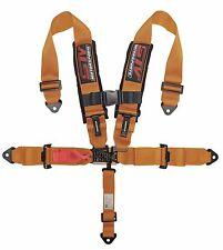 ORANGE Racing 5 Point 2'' Safety Belt Harness Polaris UTV RZR XP 1000 900 800