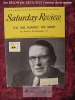 Saturday Review July 14 1962 RITCHIE CALDER ARTHUR SCHLESINGER Jr JAN HOLCMAN