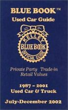 Kelley Blue Book Used Car Guide: Private Party, Trade-In, Retail Values, 1987-20