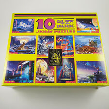 Glow in the Dark Fantasy Jigsaw Puzzle Box of 10 Ceaco USA Unopened RARE Retired