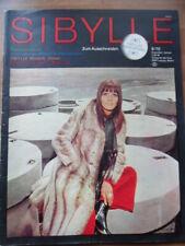 SIBYLLE 6 - 1970 (3) Mode-Zeitschrift Pelze Kleider Mäntel Blusen Hose DDR Vogue