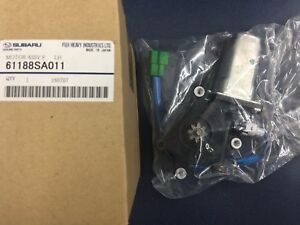 2003-2008 Genuine Subaru Forester LH Driver Side Front Window Motor OEM NEW