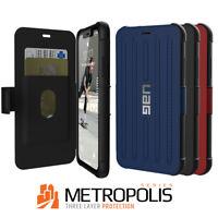 Urban Armor Gear(UAG) iPhone XR Metropolis Folio Case Flip Cover -Rugged & Tough