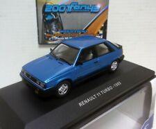 RENAULT 11 TURBO AZUL BLUE 1/43 SOLIDO S4304500