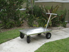Push Wagon All Aluminum Cart Nursery Garden Centers Fishing Made in Usa 🇺🇸