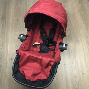 Baby Jogger City Select Seat Brand New Deep Red With Black Frame