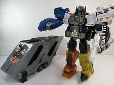 New listing Hasbro Transformers Energon Super Optimus Prime Action Figure with Trailer