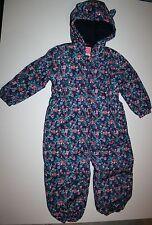 Baby Schneeanzug für Mädchen aus Polyester