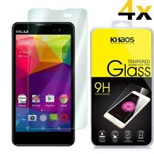 [4x] KHAOS HD Tempered-Glass Screen Protector Guard For BLU Advance 5.0
