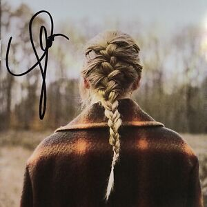 Taylor Swift Evermore Signed CD Autographed Booklet On Hand Album *MUST READ*