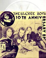 "SLICKEE BOYS 10th anniversary 7""EP RAREST VERSION yellow/purple sleeve w/insert"