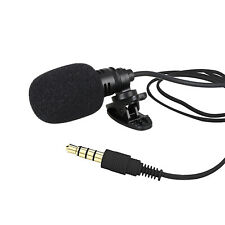 External Clip-on Lapel Lavalier Microphone For iPhone Smart Phone Recording