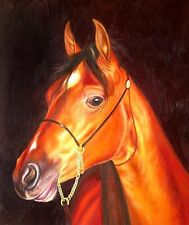 "High Quality Oill Painting ""Horse Portrait #112"" 24""x20"""
