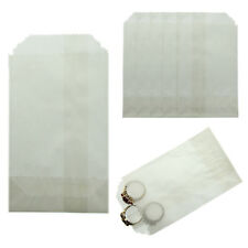 "Glassine Wax Paper Bags 2.75"" x 4.25"" Coin Jewelry & Small Parts Pack of 1000"